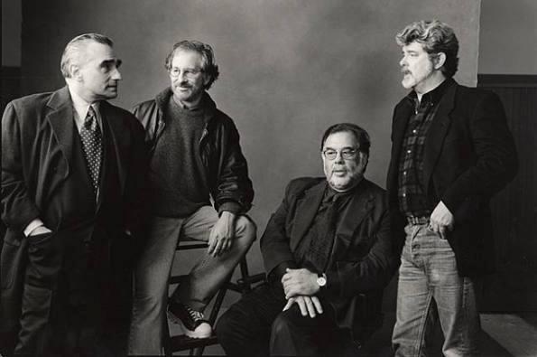 Скорсезе, Спилберг, Коппола и Лукас.
