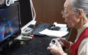 Названа самая пожилая геймерша в мире